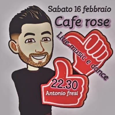 Sabato16 vi aspettiamo al Cafè RoSé.... Non mancate!!!