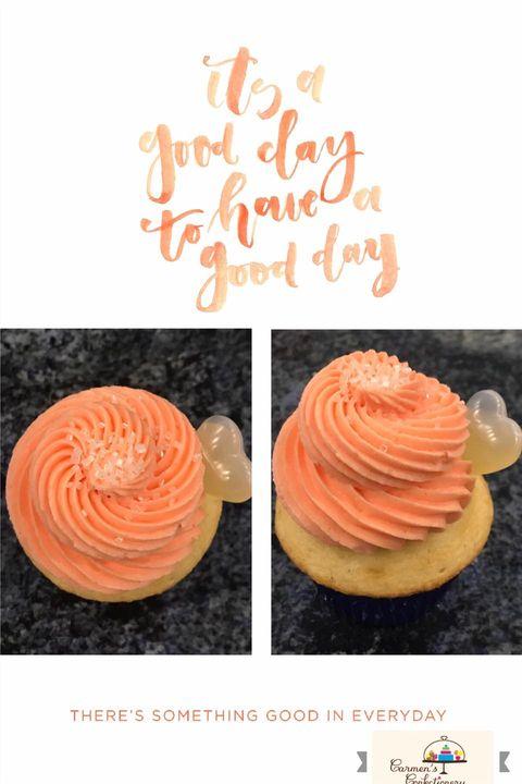 Mimosa cupcakes 🧁